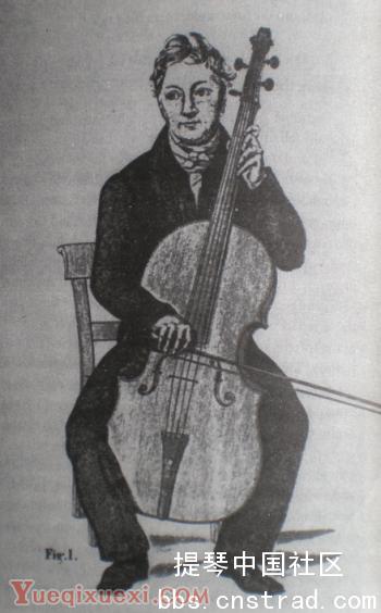 大提琴的尾柱