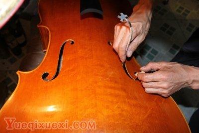 关于大提琴音柱的调整